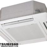Binnendeel 4-zijdige uitblaas inbouwbouwcassette Mitsubishi AIRMADE